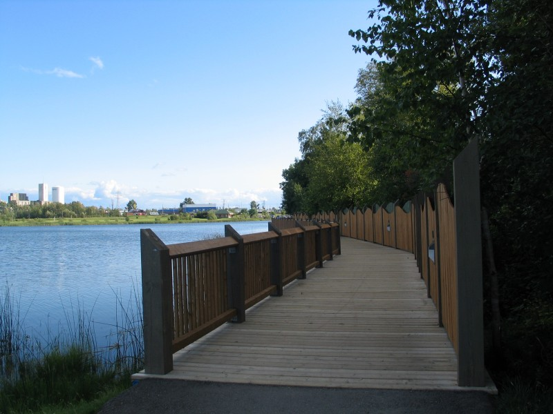 Gillies Lake Boardwalk