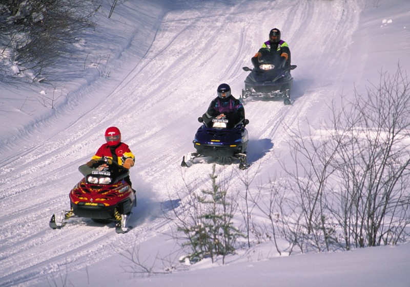 Snowmobiling Trails