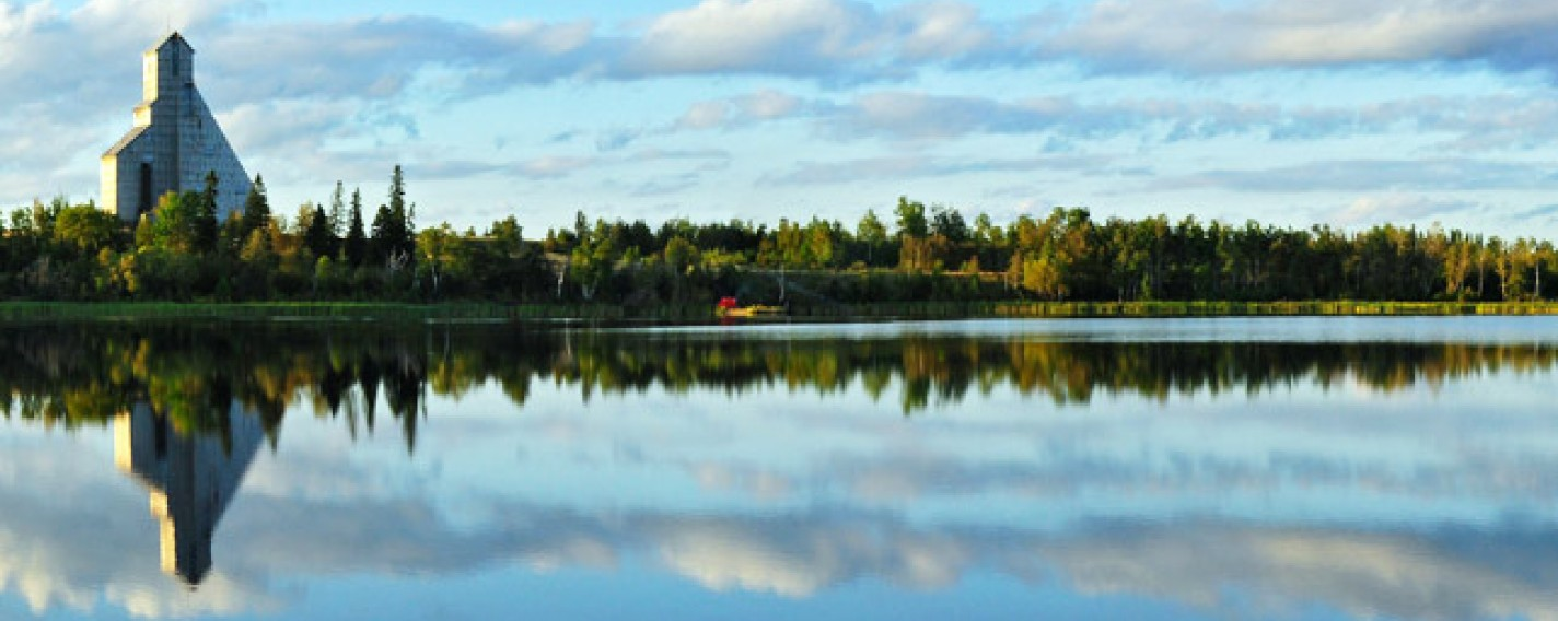 A scenery photo of Timmins